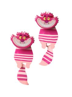 Disney Alice In Wonderland Cheshire Cat Tunnel Earrings | Hot Topic