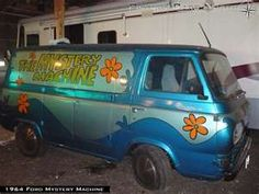You know you want the Scooby Doo Mystery Machine!  Rut Roh!