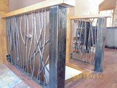 Jude Goodpaster of Goodpaster Metalcraft based in Truckee, CA is an artist blacksmith, general contractor, and home builder. He makes these amazing home furnishings and decor perfect for a Truckee or Lake Tahoe Lake Tahoe, Blacksmithing, Home Builders, Wardrobe Rack, Home Furnishings, Home Goods, Amazing, Artists, Furniture