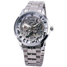 T-WINNER Luxury Skeleton Men's Wristwatch
