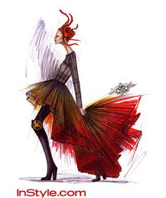 sugerencia del vestido de fuego