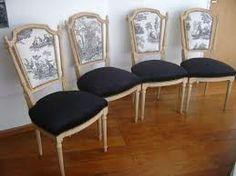 Luis tapiza Vintage Chairs, Vintage Furniture, Chaise Louis Xvi, Sofa Design, Furniture Design, Luis Xvi, Chair Makeover, Contemporary Decor, Decoration