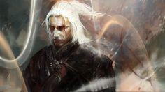 Фан-арт Саймона Гуэнара к игре «Witcher»