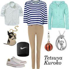 """Kuroko Tetsuya"" by winterlake25 on Polyvore"