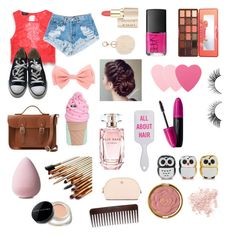"""""""#love #super #star #look #converse"""" by emmizzzz on Polyvore featuring moda, Bebe, Levi's, Converse, The Cambridge Satchel Company, Kate Spade, NARS Cosmetics, Elie Saab, Sephora Collection e Revlon"""