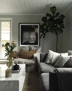 20 Lovely Living Room Design Ideas for 2019 - Rearwad Living Room Grey, Living Room Interior, Home Living Room, Living Room Designs, Kitchen Interior, Family Room Design, House Doctor, Living Room Inspiration, My New Room