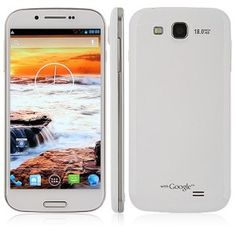 Star S4 Android 4.2 Smartphone 5.0 Inch FHD IPS Screen Quad Core MTK6589 1G RAM 8GB 12.0MP Camera - White