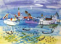 Venice by Raoul Dufy (1877-1953)