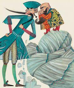 "Svetlana Akateva illustration for ""Baron Munchausen"". Baron, Illustrator, Religion, Princess Zelda, Fictional Characters, Fantasy Characters, Illustrators"
