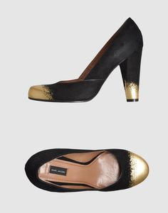 diy these marc jacobs heels. I have some black flats that could use some love...