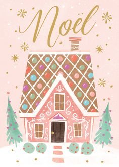 Leading Illustration & Publishing Agency based in London, New York & Marbella. Noel Christmas, Pink Christmas, Christmas Design, All Things Christmas, Winter Christmas, Vintage Christmas, Christmas Crafts, Christmas Decorations, Illustration Noel