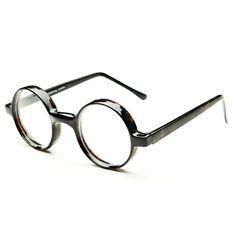 round eyeglass frames for women   ... Nerd Clear Lens Round Eyeglasses Glasses Frames Tortoise R422   eBay