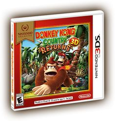 DK Returns 3DS Box Art