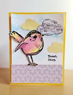 anything card LOAW stitching challenge by Leah at @studio_calico #studiocalico #cardmaking #scrapbook