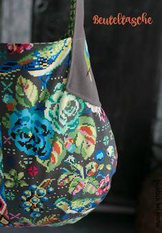 Die Beuteltasche - schnellgenähte Tasche für den Taschenspieler 3 Sew Along Schnittmuster via Farbenmix - ein Beispiel von Frühstück bei Emma Sewing Projects, Tote Bag, Bags, Fashion, Sew Simple, Travel Tote, Bags Sewing, Sewing Patterns, Amazing