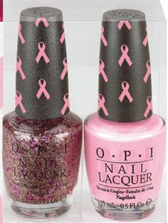 OPI Nail Polish: Products That Promote Breast Cancer Awareness | TheNest Blog