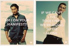 Lost Valentines - Am I on your Manifest - If we can't live together we're going to die alone