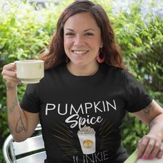 We are loving this Homeschool Mom Just add coffee tee! The perfect addition to your wardrobe for this season.