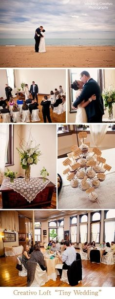 Highlights From Marissa And Greg39s Quottiny Weddingquot At Creativo Loft With…