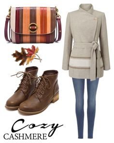 """""""Senza titolo #437"""" by kirsten-weigh on Polyvore featuring moda, 7 For All Mankind, Jacques Vert, Anne Klein e Tory Burch"""