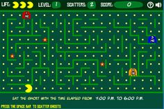 Is teaching elapsed time driving you crazy? Try this old pac-man style game to give kids the practice they need….best part….they have so much fun they keep on practicing. It's a win-win! Get a link to this site and many more to help with teaching elapsed time in your classroom.