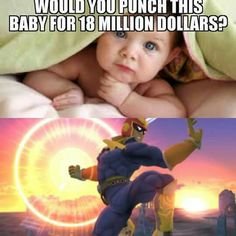 I'll do it because they  didn't say how hard....so I could just lightly tap the baby with my hand in a fist....I would never truly punch a baby though.....
