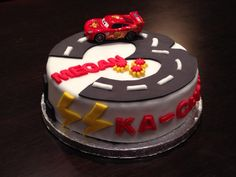 Ka-Chow. Lightning McQueen and the 3 ties in perfectly #lightningmcqueen