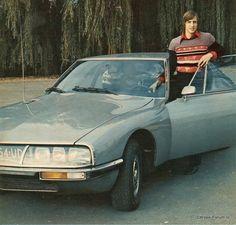 Johan Cruyff en zijn Citroën SM
