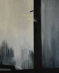 "Saatchi Art Artist Cynthia Gregorová; Painting, ""Fog behind the window"" #art"
