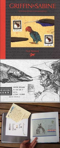 Griffin and Sabine: An Extraordinary Correspondence, Nick Bantock    If you'd be thrilled at the idea of picking through the mail of two artists engaged in a tempestuous love affair (and um, who wouldn't?), this book is for you. The epistolary romance literally plays out in your hands — extraordinary indeed.