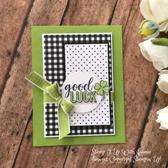 Birthday greetings male simple 65 Ideas for 2019 Scrapbooking, Scrapbook Cards, Birthday Greetings, Birthday Cards, Goodbye Cards, St Patricks Day Cards, Saint Patricks, Good Luck Cards, Hand Stamped Cards