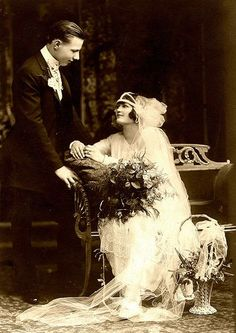 Wedding Photo ca 1920