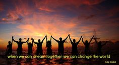 """""""Dreams are at the center of any effort to make things better."""" @Lauren Jane Daskal"""