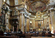 Iglesia del Gesú en Roma - http://www.absolutroma.com/iglesia-del-gesu-en-roma/