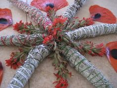 sage wands by sacred earth friends...have you ever held and smelled sage bundled like this? If you haven't, put it on your bucket list.