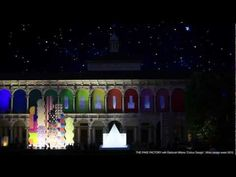 THE FAKE FACTORY - 1000 square meters videoprojection at STAZIONE LEOPOLDA- GUESS REM 2012 - YouTube
