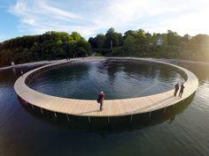 The Infinite Bridge By Gjøde & Povlsgaard Architects