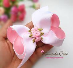 Pinwheel bow or clip Diy Hair Bows, Making Hair Bows, Ribbon Hair Bows, Diy Ribbon, Ribbon Work, Bow Hair Clips, Ribbon Crafts, Pinwheel Bow, Baby Girl Bows