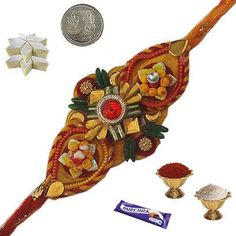Send Rakhi Online Rakhi Online, Rakhi Gifts, Bunch Of Flowers, Online Gifts, How To Memorize Things, Christmas Ornaments, Holiday Decor, Bouquet Of Flowers, Christmas Jewelry