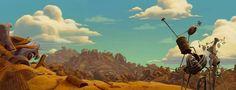 The Iron Giant (1999  Brad Bird) Layout Art - the iron giant other layout background brad bird animation art concept art character design animated film hogarth giant dean non disney scenery gif