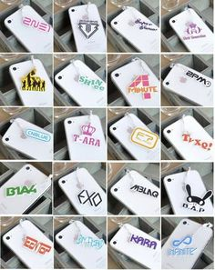 K-Pop iPhone charms <3