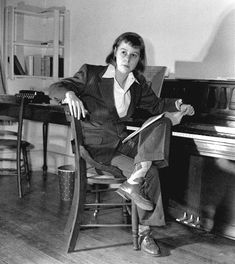 """""""I live with the people I create and it has always made my essential loneliness less keen.""""  —Carson McCullers"""