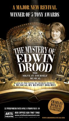 THE MYSTERY OF EDWIN DROOD. Arts Theatre, West End (18 May - 17 June 2012) - http://www.todomusicales.com/content/content_english/3745/the-mystery-of-edwin-drood-to-transfer-to-the-west-end/