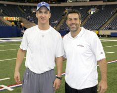 Peyton & Kurt Warner....Interview on NFL Network tomorrow at 7:00 pm on NFL Network's NFL Total Access.