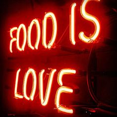 http://mrdelivery.com/  Food is Love #foodquote #mrdelivery