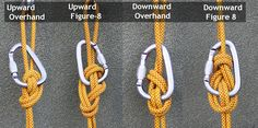 Climbing knots - The Stone Knot (aka Stein Knot) A Canyoneering Secret Weapon – Climbing knots Paracord Knots, Rope Knots, Macrame Knots, Survival Supplies, Survival Prepping, Survival Skills, Camping, Backpacking, Bowline Knot