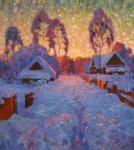 Shubnikov Pavel. Sunset paints