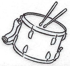 Gallery For > Snare Drum Outline