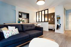 Complete renovation of an apartment of 32 m², Tours, Cécile Gorce - interior designer