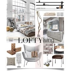 "http://szaboesz.blogspot.hu/2016/07/8-reasons-to-love-lofts.html ""Loft 3"" by szaboesz on Polyvore"